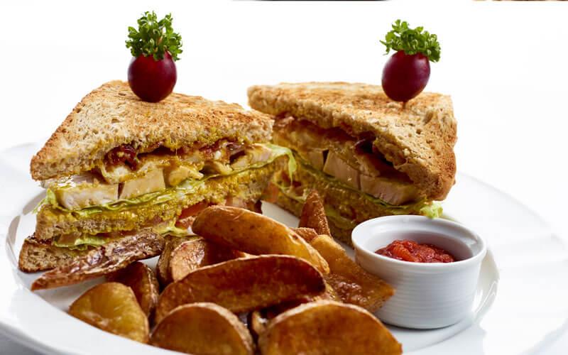 Club Sandwich Frokost Restaurant Krinsen
