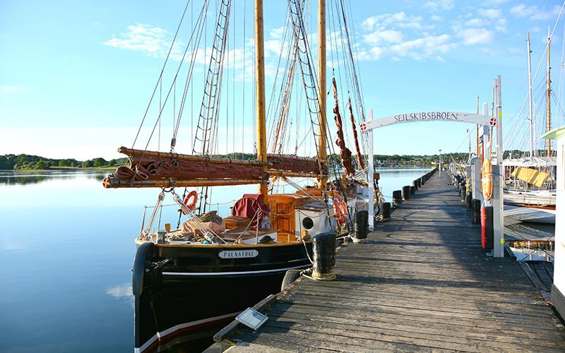 Sejlskibsbroen i Svendborg