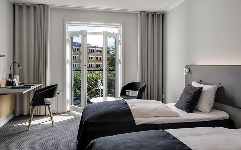 Standard dobbeltværelse Hotel Svendborg