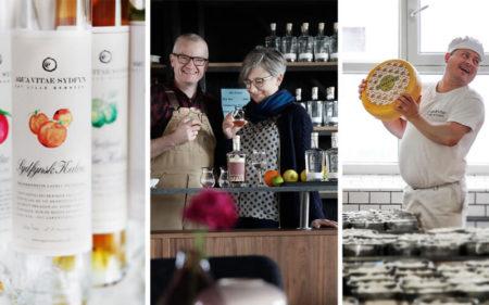 Sydfynsk gastronomi og kunst