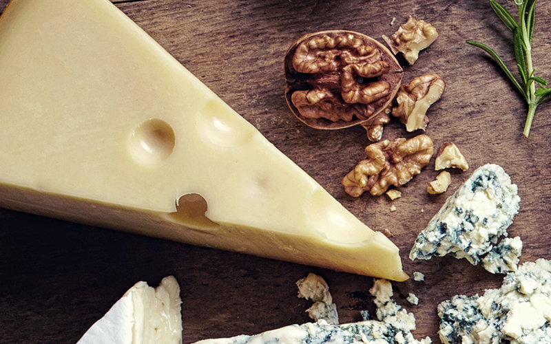 Mellemret julemenu ost