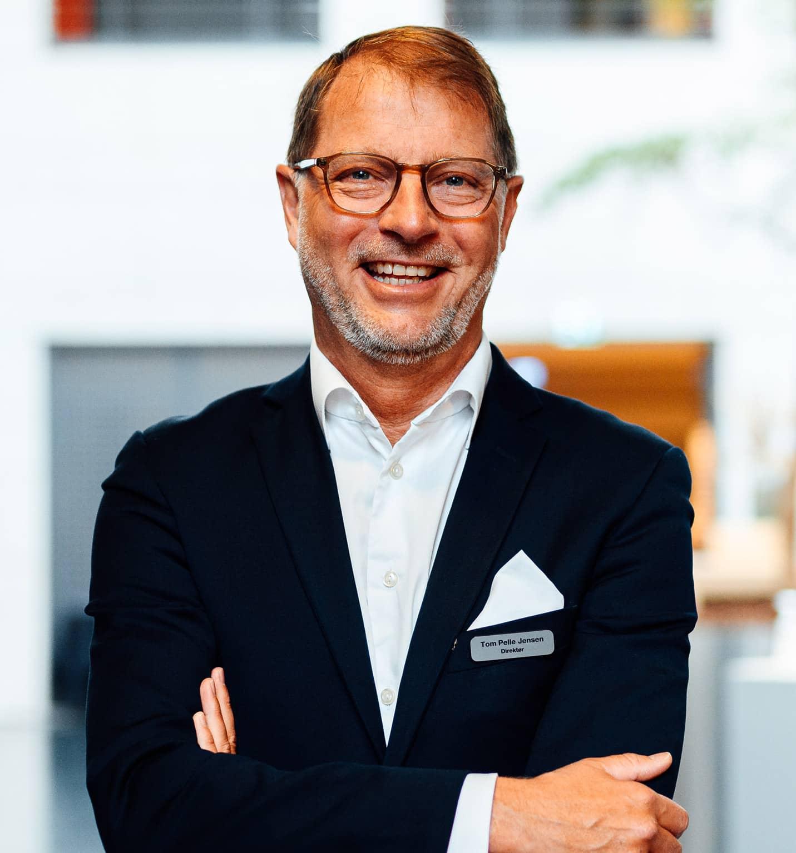 Hoteldirektør Tom Pelle
